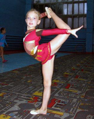 фото гимнасточки