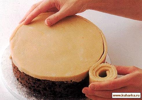 Торт из марципана как сделать