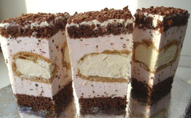 Как сделать торт эклер