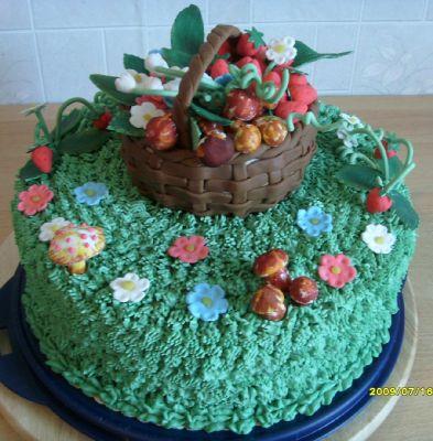 Торт лесная поляна фото