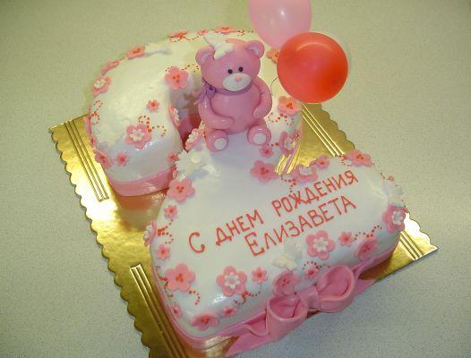 Детские торты для девочки 2 года фото